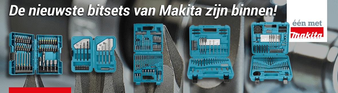 De nieuwe bitsets van Makita zijn binnen!