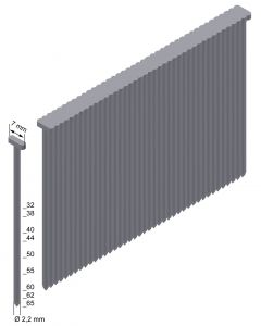 Prebena nagels 65mm verzinkt type T